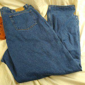 Eddie Bauer Denim Fleece Lined Jeans Size 46 x 34
